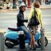 "STREET SCENES (2 of 3): ""Flirting Italian style"""