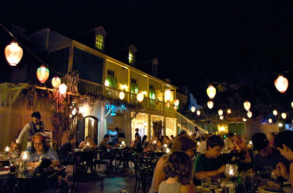 New Orleans Restaurant Disney World