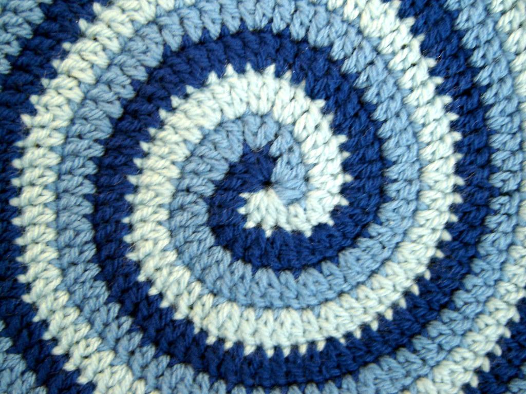 2 Color Spiral Crochet Pattern