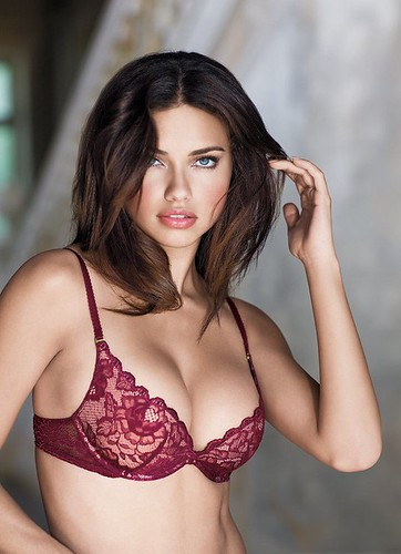 Adriana Lima in the Holiday Wish Book Photoshoot | by Artesbe.com