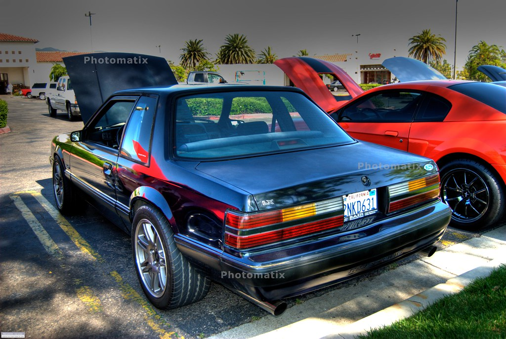 Ford Mustang 5 0 Lx Foxbody Coupe With Svt Cobra 10th Anni