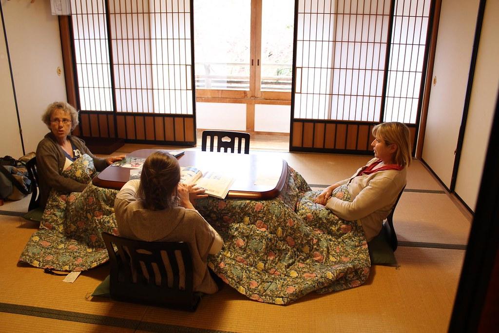koya san 7 le fameux kotatsu table chauffante japonaise. Black Bedroom Furniture Sets. Home Design Ideas