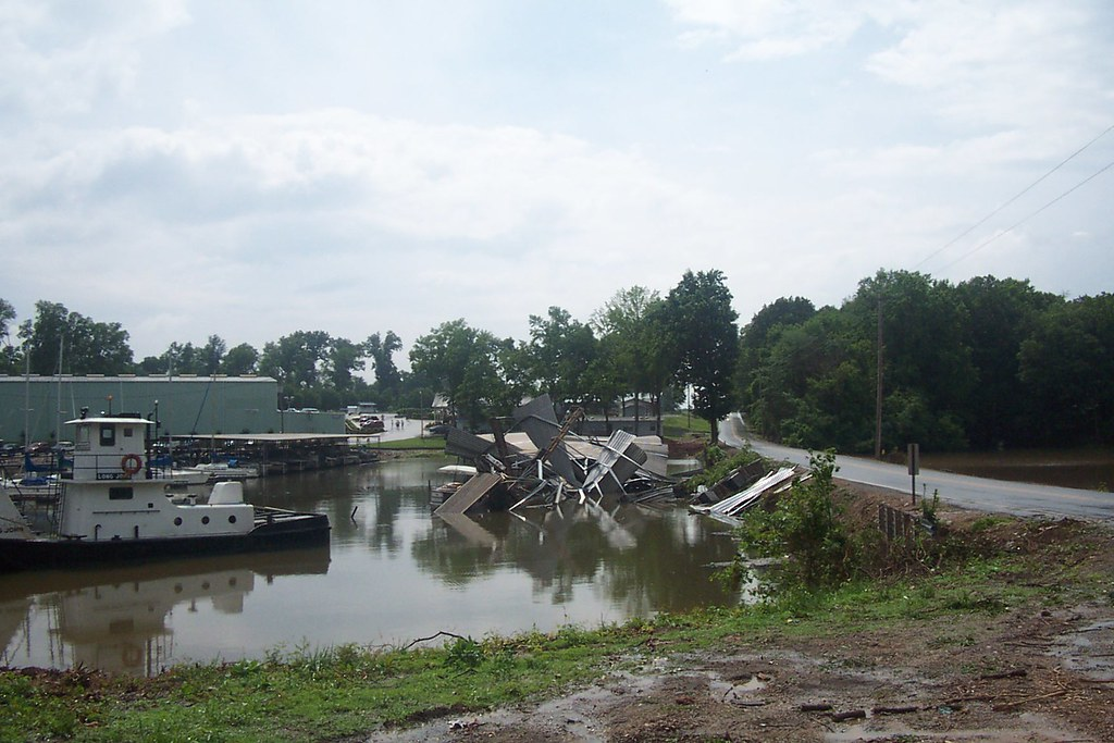F1 Tornado Damage 5/17/03 | These are some pictures I took ...