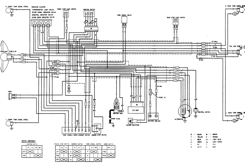 honda s65 wiring diagram honda wiring diagrams