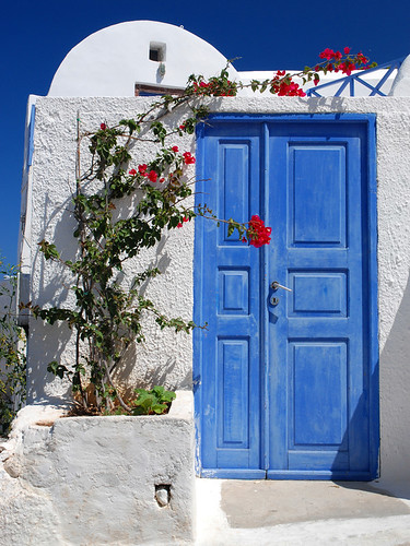 Blue door | by MarcelGermain