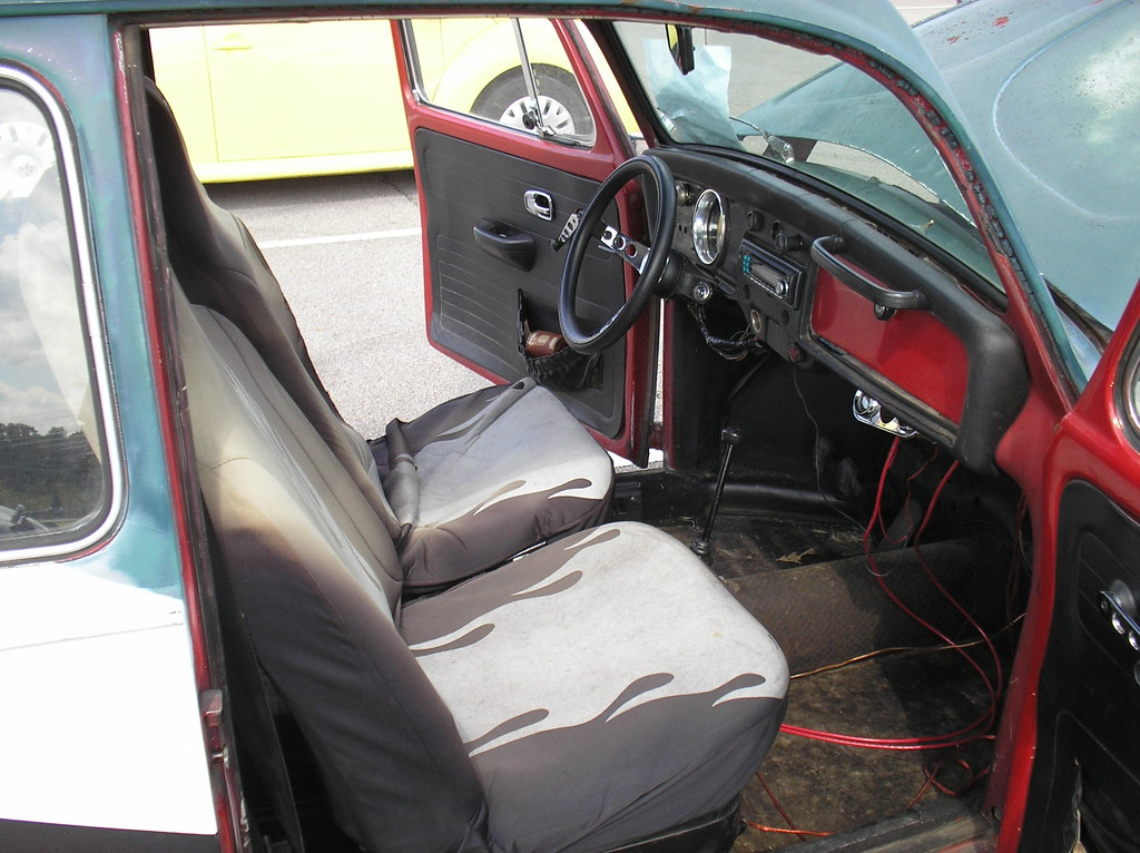 "1969 Volkswagen Beetle, ""Baja Bug"", interior 