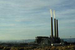 Coal Burning Power Plant | by r.whitlock