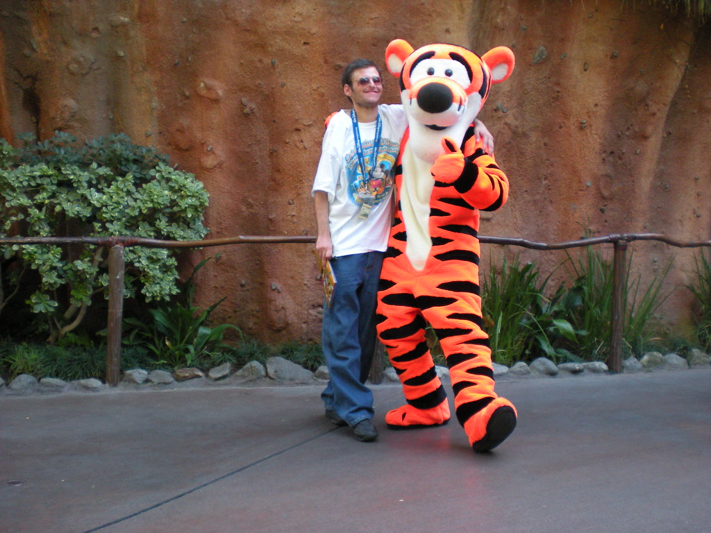Me Amp Tigger At Disneyland In Anaheim Ca One Of My