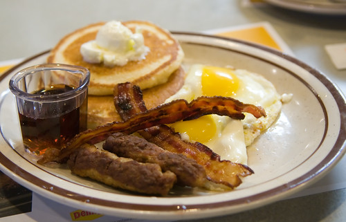 free grand slam breakfast from dennys | by Joits