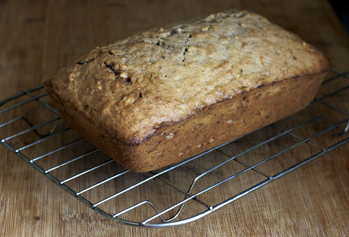 Spiced Banana-Walnut Loaf | by AZ Cookbook
