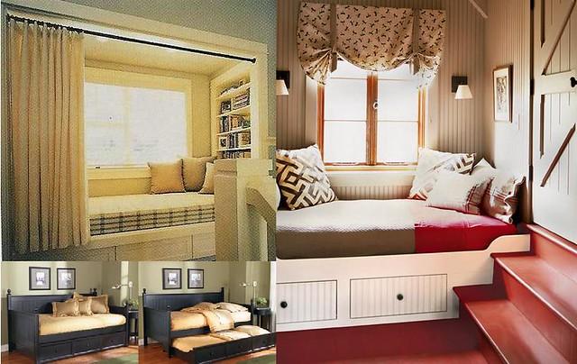 Bed Built In Window Seat Trundle Anitajuneparker Flickr