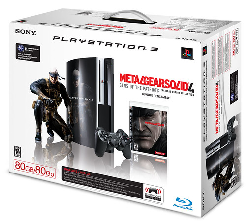 PS3 Metal Gear Bundle | by PlayStation.Blog