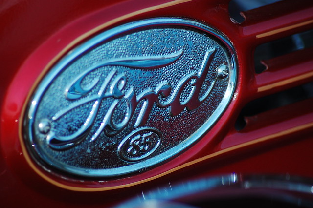 Classic Ford Emblems Decals : Classic ford truck emblem flickr photo sharing