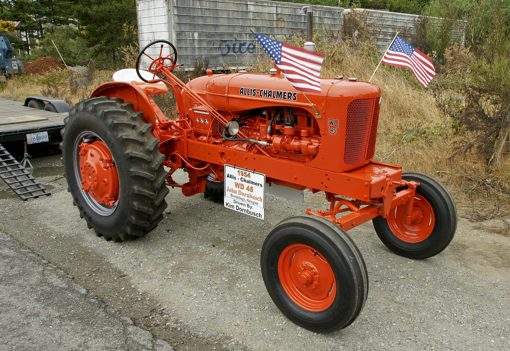 Allis Chalmers Wd45 : Allis chalmers wd dsc old farm tractor