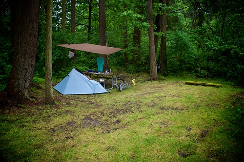 Camping Whidbey Island Map