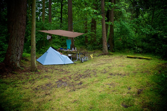 Whidbey Island Camping Map