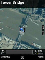 Nokia Maps - satellite view