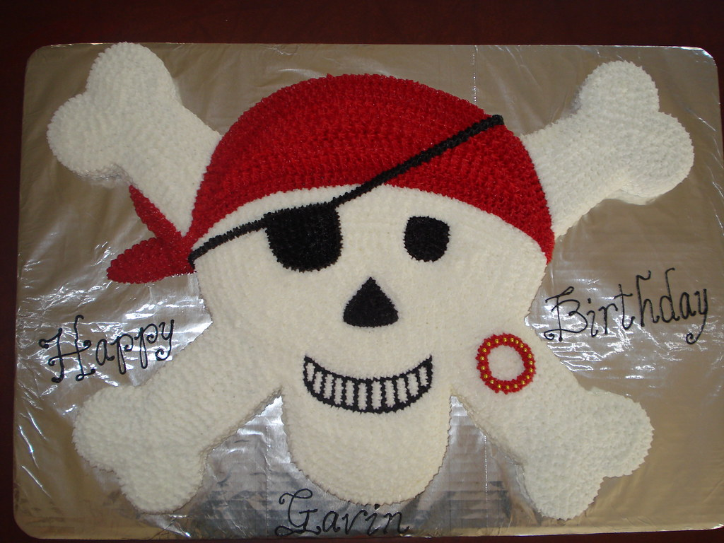 Jolly Roger Cake Pan