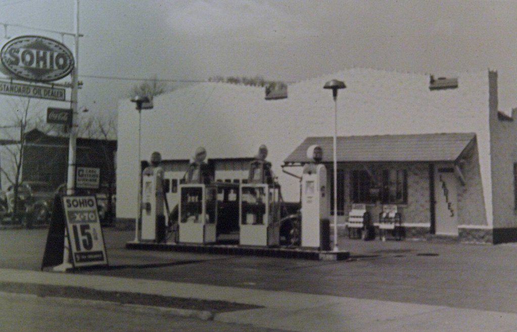 Gas Pumps :: 1950 Gas Pump Reproductions :: SOHIO 1950 Erie ...