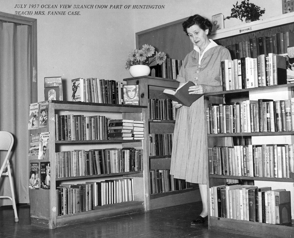 ocean view branch orange county public library 1957 flickr