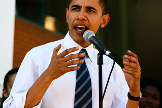 Barack Obama at ASU | by peter.howe