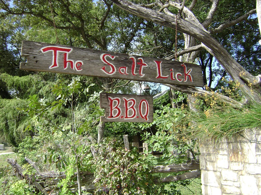 salt lick online dating 1165 reviews of the salt lick bbq if you're in the austin or round rock area, this is a must visit this is the best smoked meat you'll ever try there are two kinds of bbq sauce, red for hot, green for milder both taste excellent my.