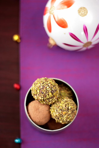 Lavender And Espresso Truffles | by tartelette