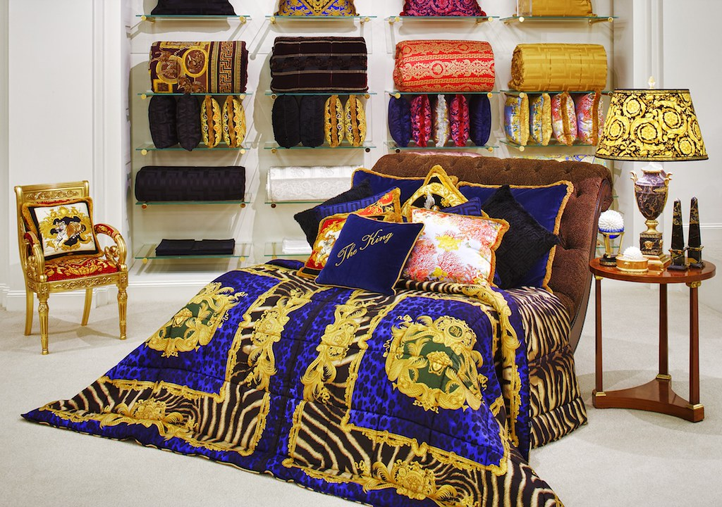 Versace Home King Comforter Available At Palazzo