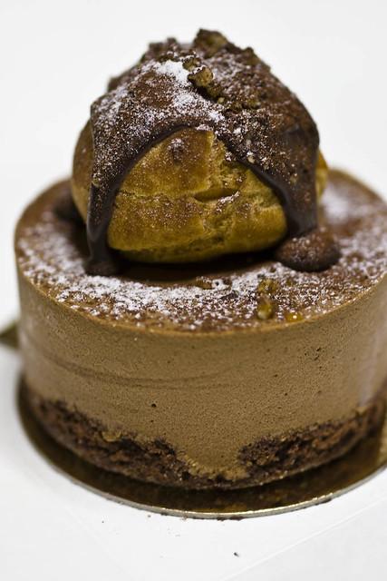 Chocolate Profiterole Cake Chocolate Profiterole Cake