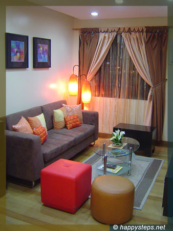 Furnished living room at amvel mansions condominium flickr - Pictures of apartment living rooms ...
