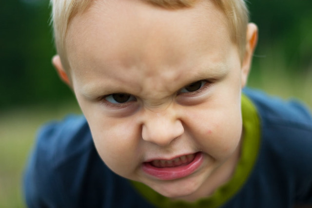 angry faces of children -#main