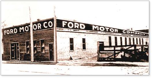 Ford Motor Company First Plant 1903 June 16 1903