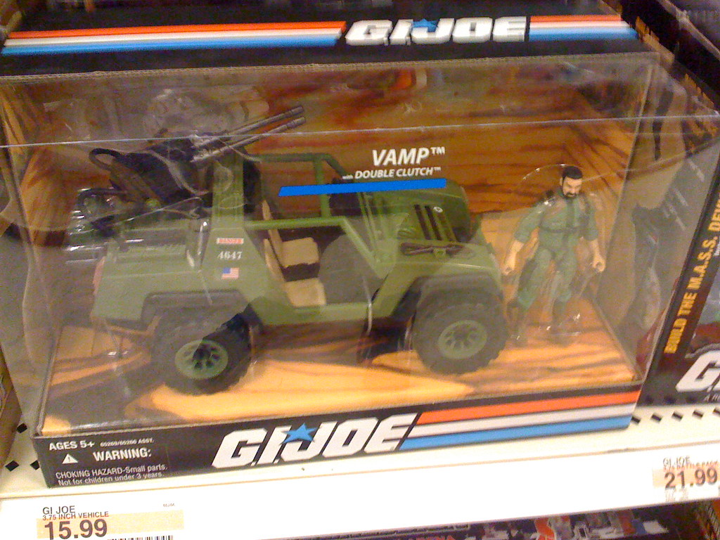 G I Joe Toys At Target Vamp Jeep Truck These Toy