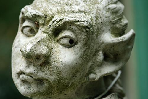 Stone Gargoyle Face - Statue | Digital Wallpapers | Flickr