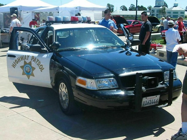 Ford Crown Victoria California Highway Patrol Car   By Jack Snell