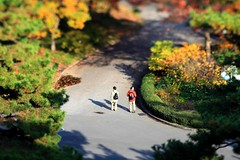 ★Getty Images invited-Nakayan's tilt-shift Tokyo-the Imperial Palace- 箱庭皇居の秋-photo by Koji Nakatani 中谷 幸司 撮影 | by pinboke_planet
