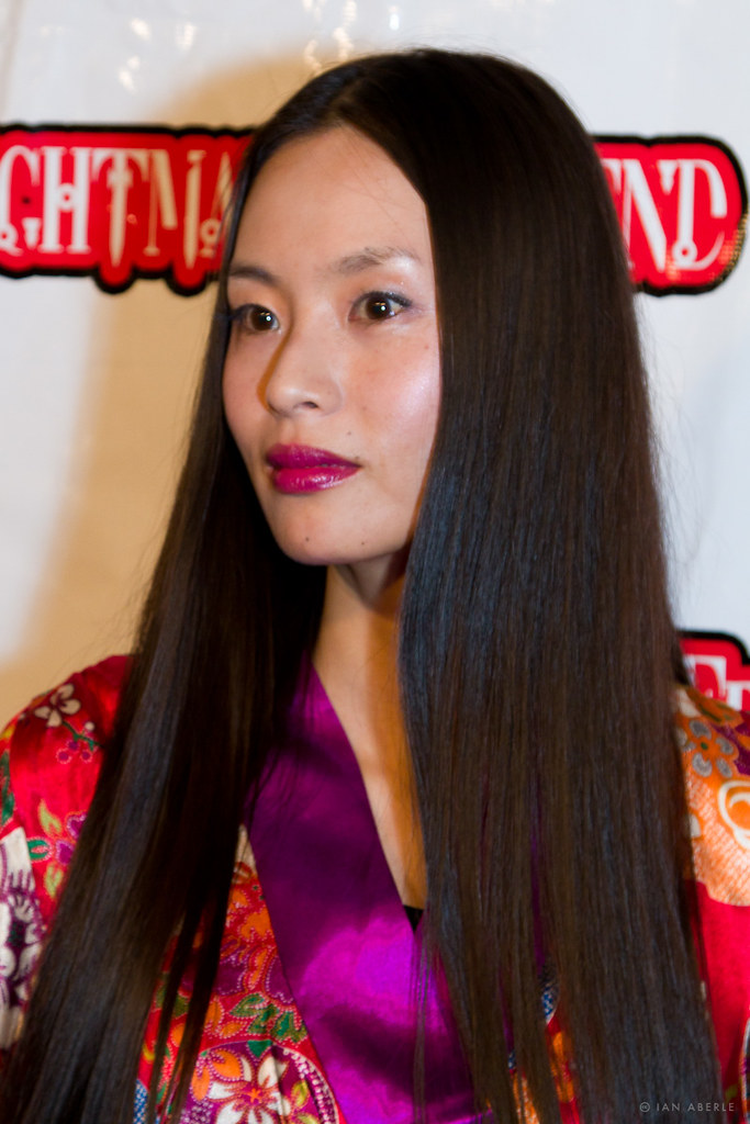 Eihi Shiina On The Red Carpet At Texas Frightmare