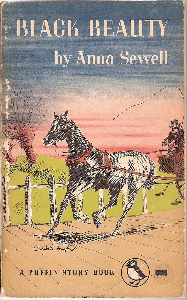 Black Beauty Book Cover : Black beauty puffin book cover from and
