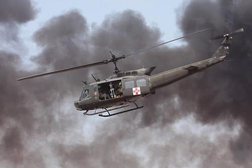 Bell Uh 1h Huey 74 22341 U S Army Medevac Air Ambulance
