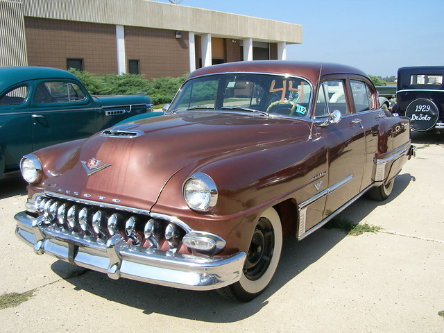 225 396 1953 Desoto Firedome V 8 4door Sedan These