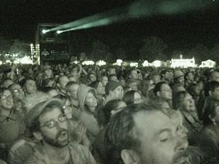 Leonard Cohen crowd @ The Big Chill 2008. Now see him at the Chill on youtube | by budgetbus75