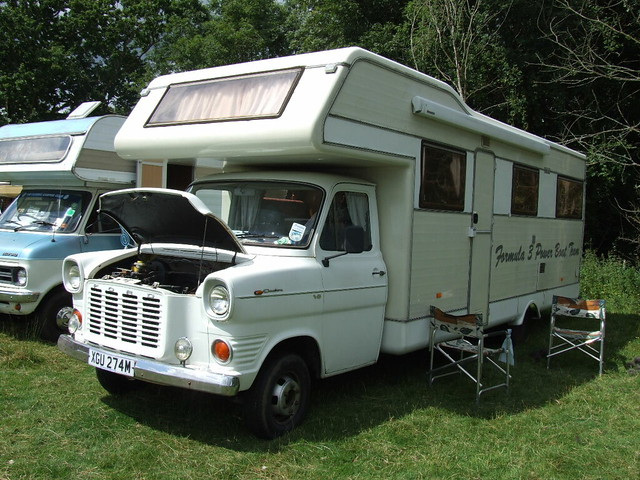 ford transit mk1 bull nose camper darling buds of may show flickr. Black Bedroom Furniture Sets. Home Design Ideas
