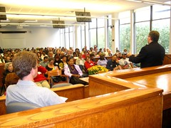 The crowd at the opening ceremonies for the 2008 tenants' conference.