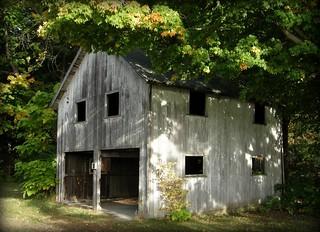 Rustic Garage And Workshop