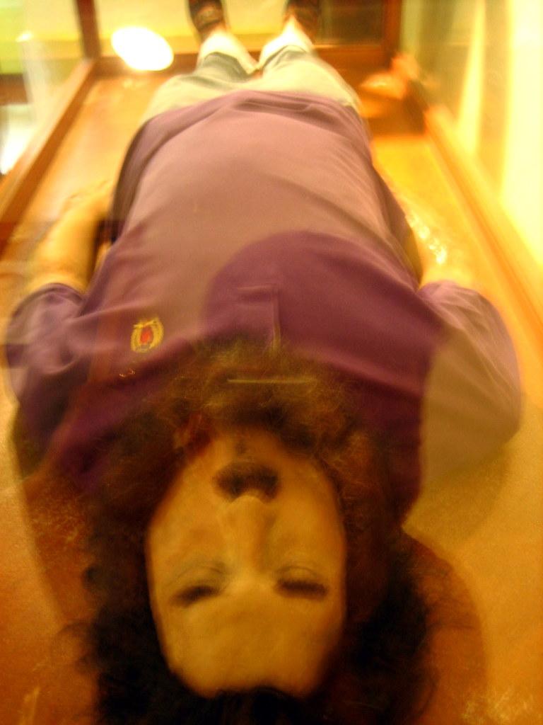 pablo escobar s body at national police museum bogota