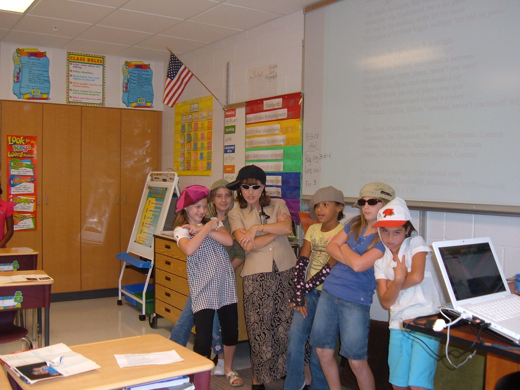 Mrs Rogers The Rapper Cynthia Rogers 4th Grade West