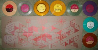 "Starflyer 59 - Ghosts Of The Future 10x7"" Box Set (Colored!) 