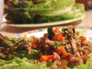 Chicken & Lettuce Wraps | by Kate Chan