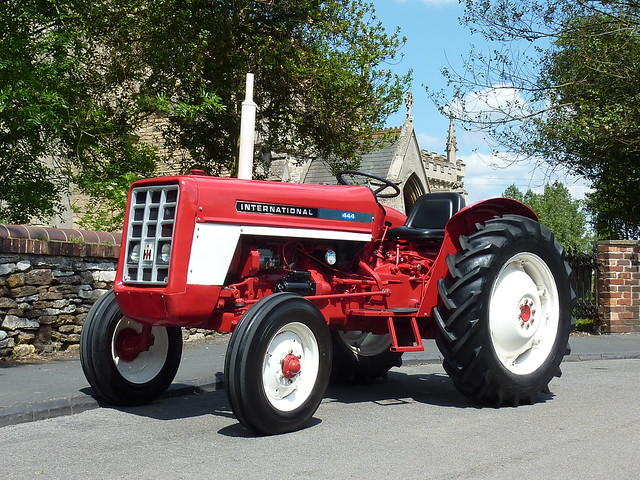 1973 International Tractor : Ian s tractor a international harvester