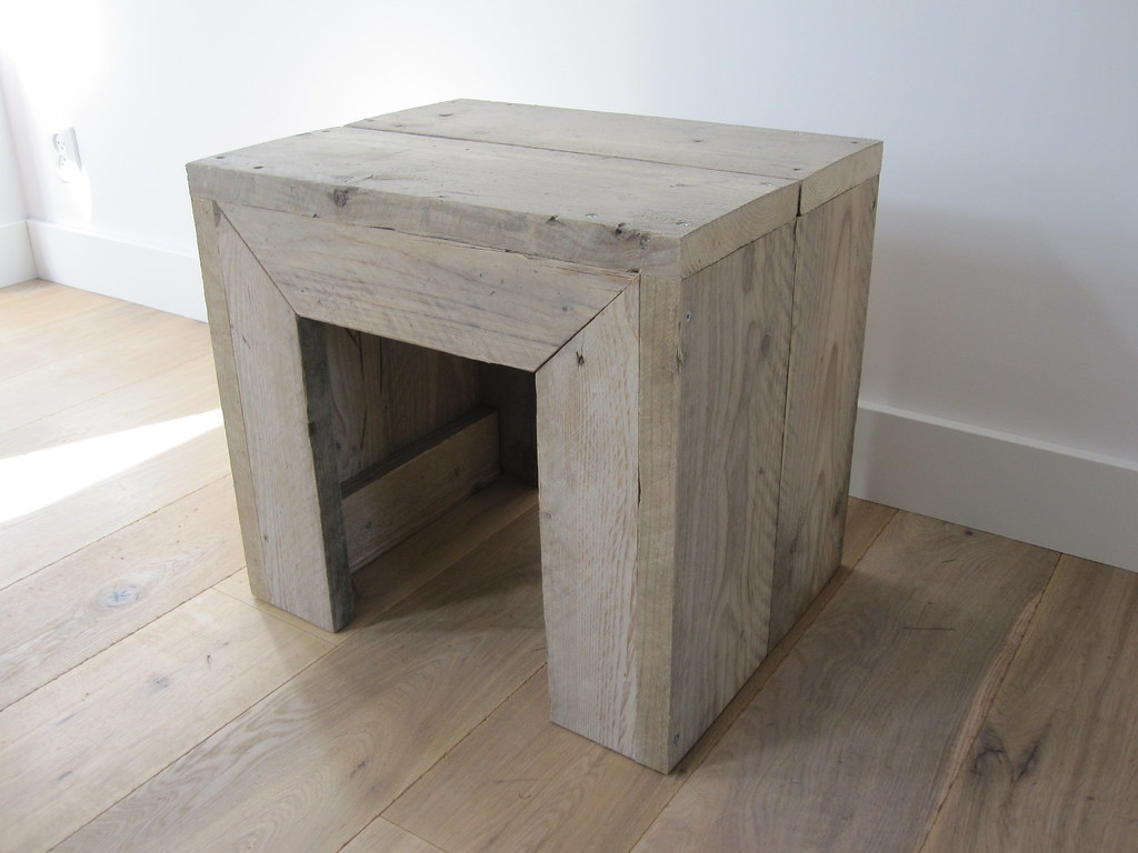 kruk bijzettafel steigerhout te koop bij w00tdesign